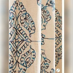 Anthropologie Other - New Anthropologie Embroidered Gretta Curtain